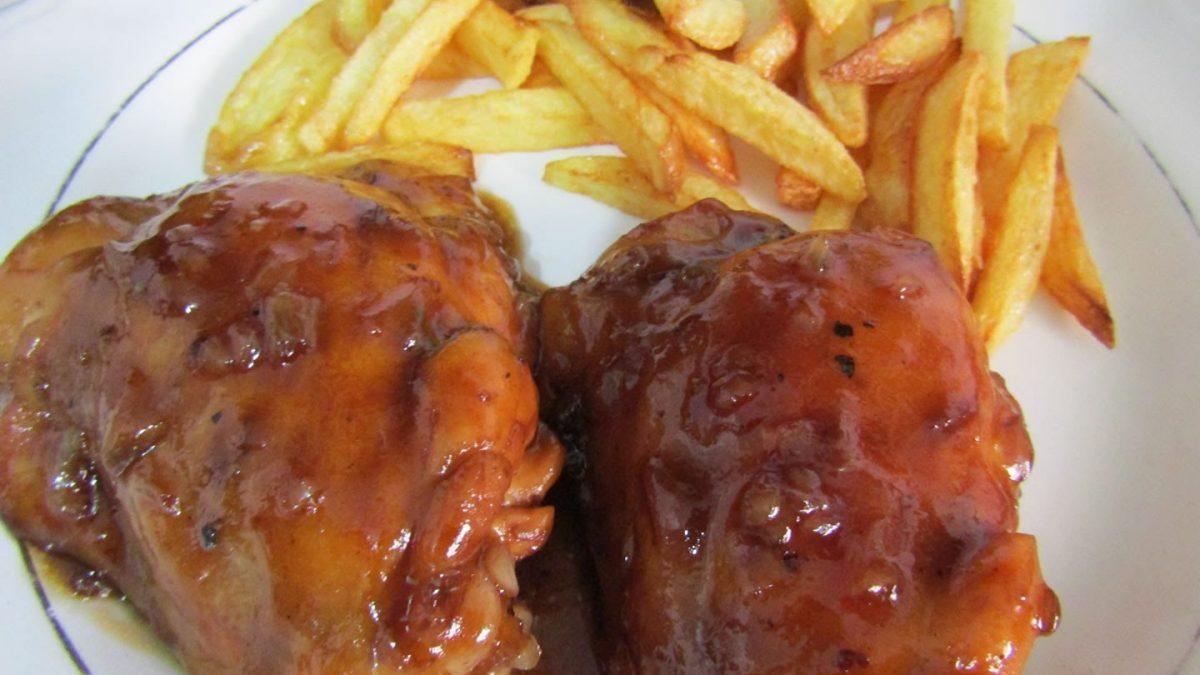 Pollo a la COCA COLA | Receta facil y deliciosa