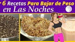 6 Recetas de Cocina Fáciles y Saludables Para Bajar de Peso por la noche