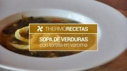Minestrone con tortilla