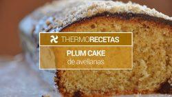 Plum cake de avellanas