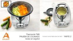 Thermomix TM5, PRUEBA DE COCINADO review en español PARTE 2 -cocinar nunca había sido tan fácil-