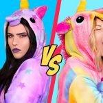 ¡Desafío De Unicornio Buena vs Unicornio Mala! / 11 Recetas Arcoíris De Unicornio