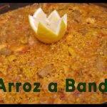 ¡EL MEJOR ARROZ DE ALICANTE| Arroz a banda | COCINANDO CON PAZ