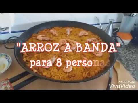 ARROZ A BANDA FACIL 8 pers.