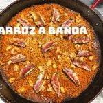 ARROZ A BANDA con Salmonetes Paellas y Arroces ArturG