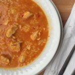 Arroz caldoso con pollo, Monsieur Cuisine SilverCrest Lidl