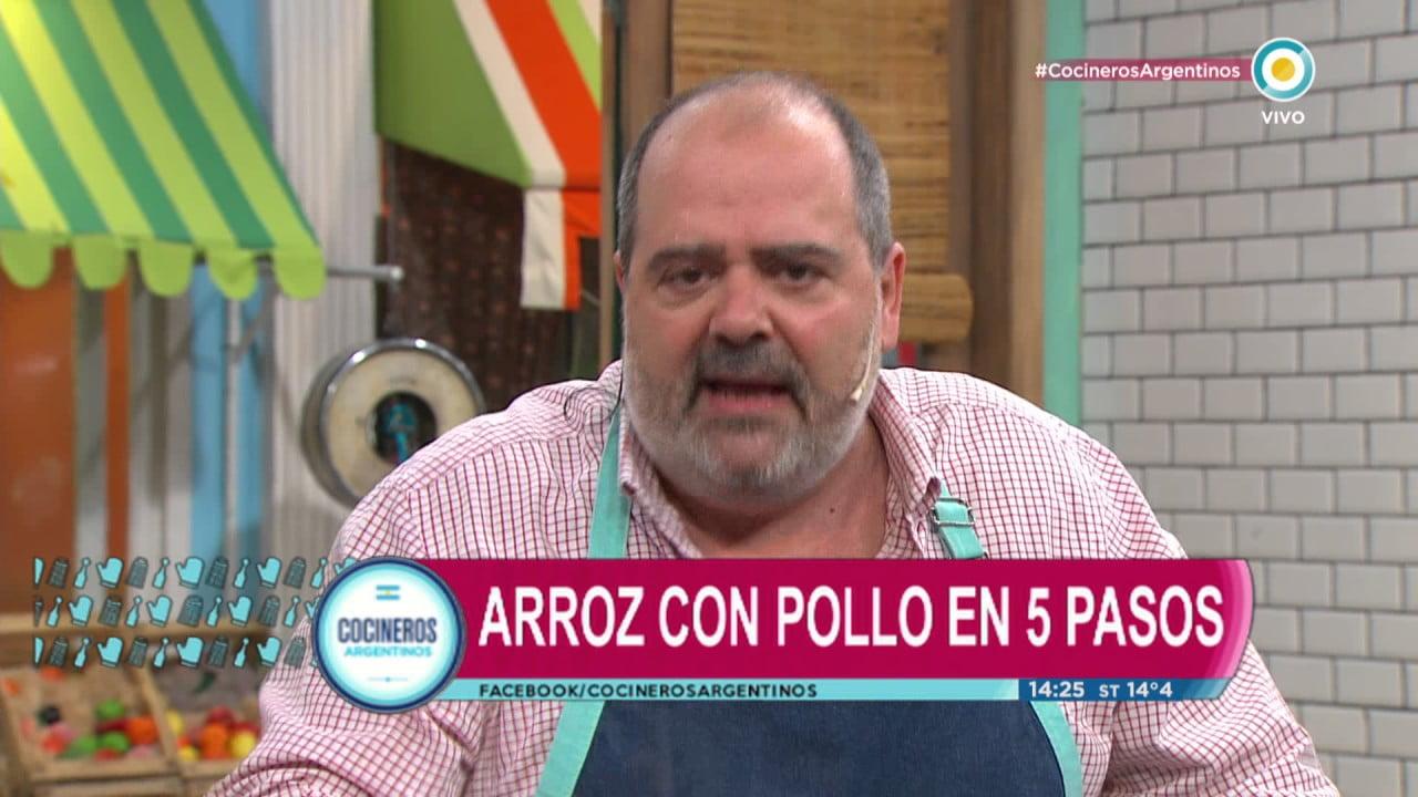 Arroz con pollo en Cocineros Argentinos (2 de 2)