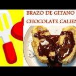 BRAZO DE GITANO CON CHOCOLATE.¡¡¡RICO RICO!!!.Las mejores recetas de cocina casera