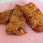 Barritas energéticas de cereales (Granola, muesli). Homemade energy bar recipe. EcoDaisy.  Mi receta de cocina