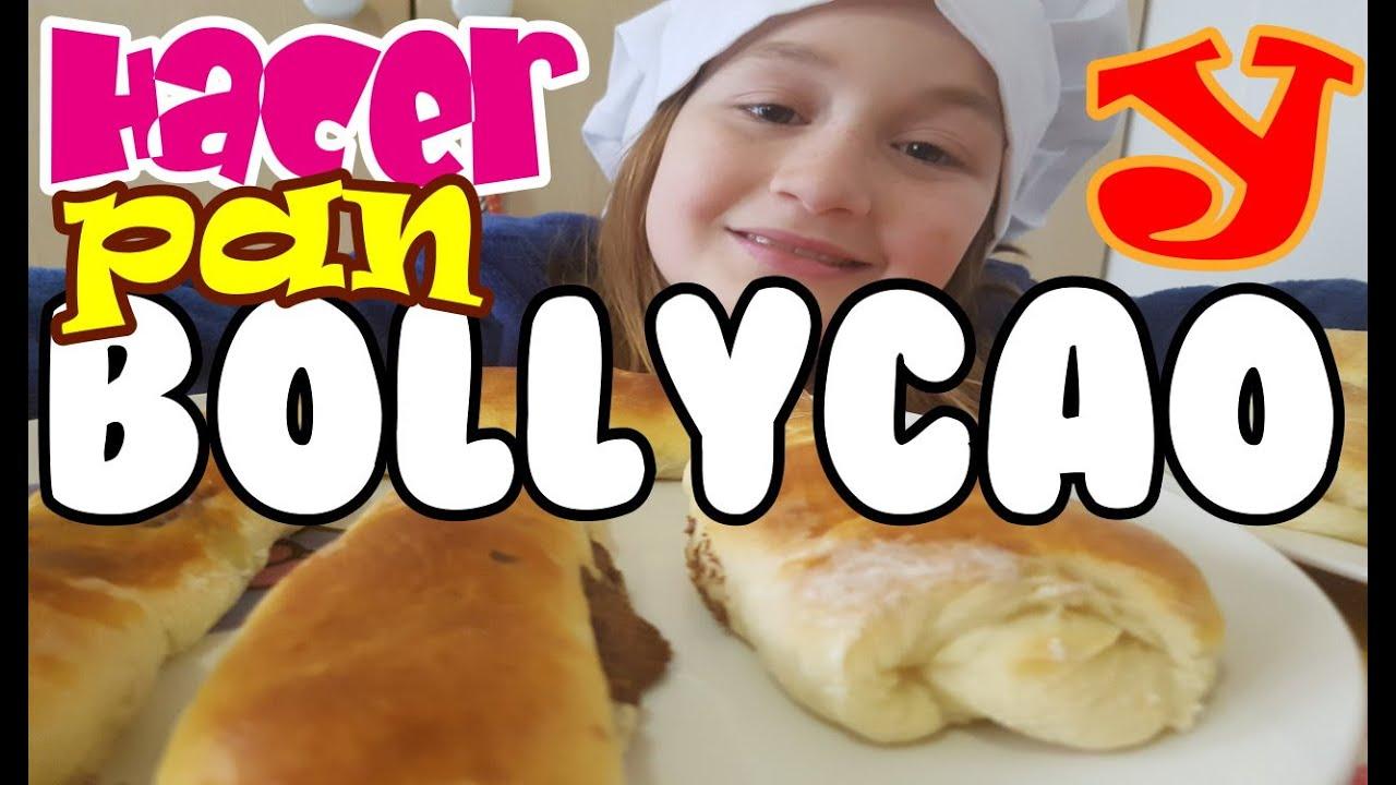 Bollicao casero, masa de pan y pan, receta facil, canal cocina infantil