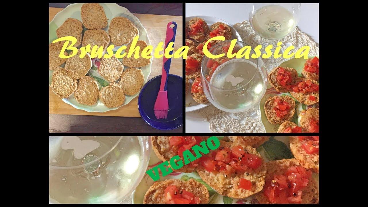 Bruschetta/Recetas Italianas/Recetas Veganas/Cocina Italiana