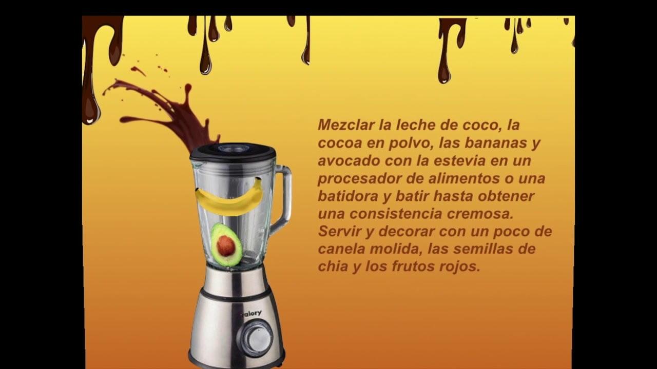 COCINA CONMIGO HOY UNA RECETA DE CHOCOLATE