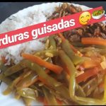 COMO HACER HABICHUELAS CON ZANAHORIA GUISADAS. RECETAS DE COCINA FACIL Y RAPIDO. cocina para todos😋