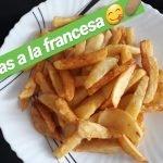 COMO HACER PAPAS FRITAS O A LA FRANCESA. RECETAS DE COCINA FACIL Y RAPIDO 🍟👌😋