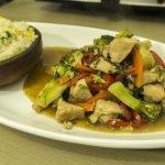 Chapsui de pollo y arroz chaufan - Recetasparati