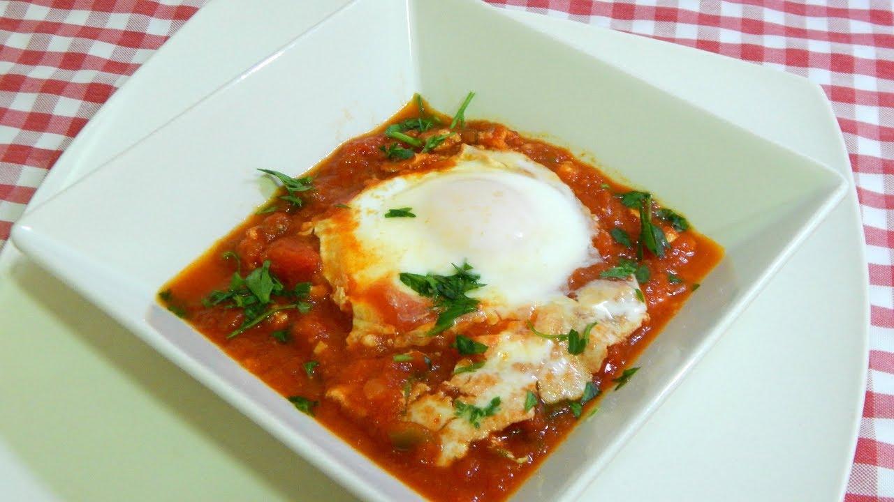 Cómo hacer huevos pobres con tomate una receta deliciosa, económica y muy fácil