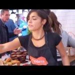 Comida callejera de Londres, bistec, hamburguesa, curry, pizza, paella