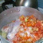 Como aser un guiso de arroz con pollo