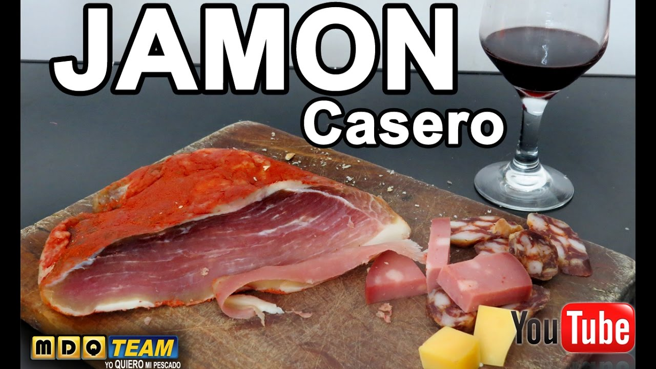 Como hacer Jamon crudo - la mejor receta
