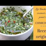 Como hacer un chimichurri receta original || chimichurri receta original || Cocina Real
