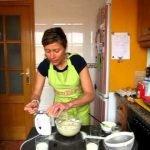 Cupcakes de coco Sin Lactosa (primera Parte)  Mi receta de cocina