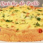 Deliciosa Receta de Cocina   Quiche de Pollo + Preparación