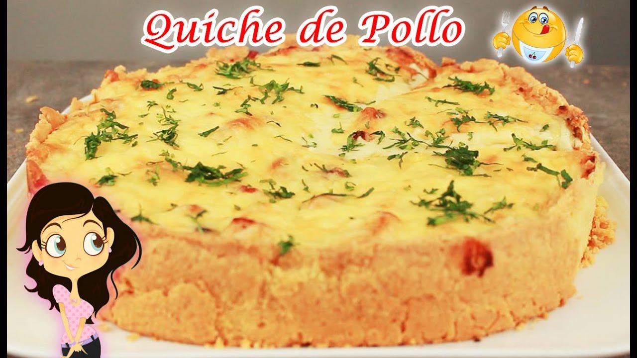 Deliciosa Receta de Cocina | Quiche de Pollo + Preparación