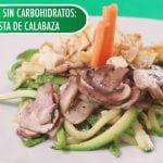 Depend® Recetas - Comida sin carbohidratos: pasta de calabaza