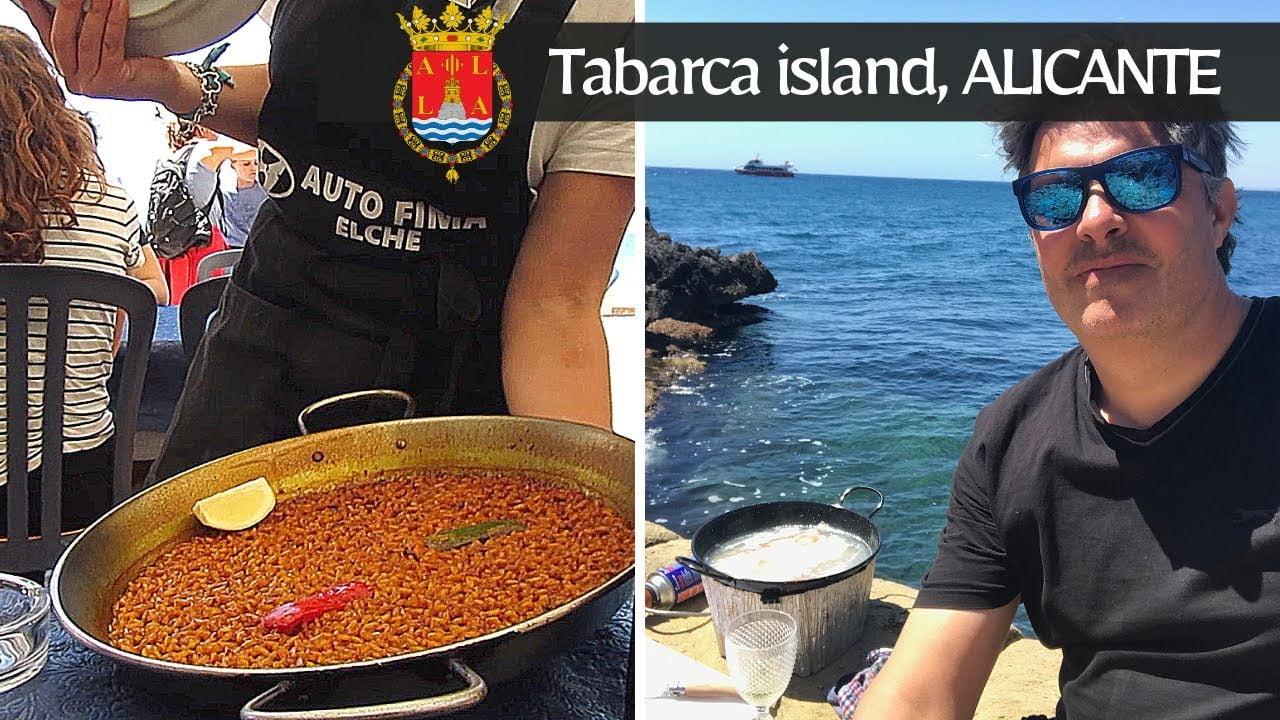 """El original """"Arroz a Banda"""" de la isla de Tabarca, Alicante."""