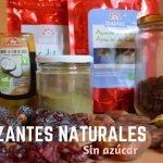 Endulzantes naturales I Sustitutos del azúcar blanco  Mi receta de cocina