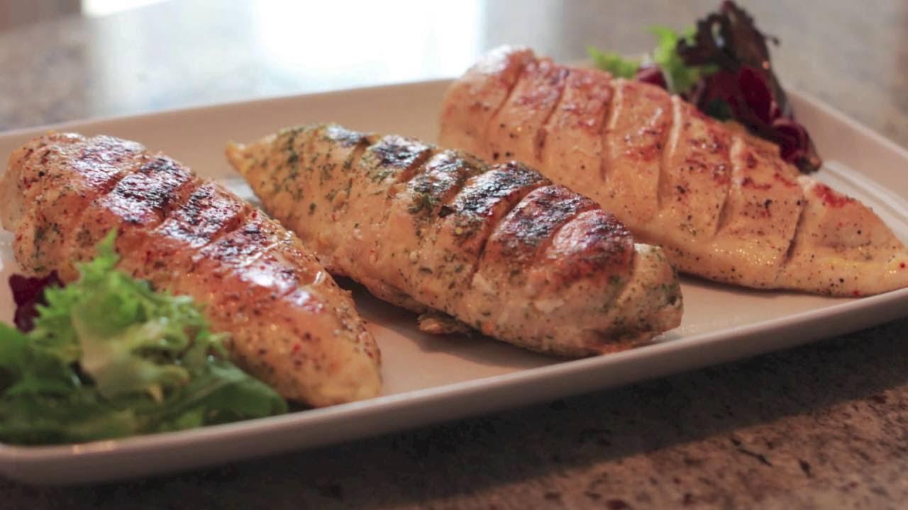 Filetes de pollo a la plancha extra jugosos SIN MANCHAR SARTÉN ✅