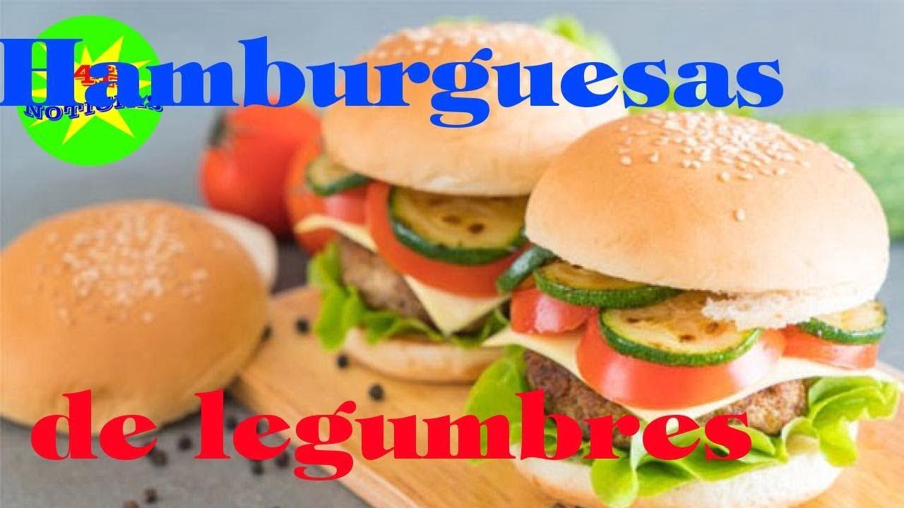 Hamburguesas de legumbres: Descubre cómo prepararlas - Recetas de cocina deliciosa