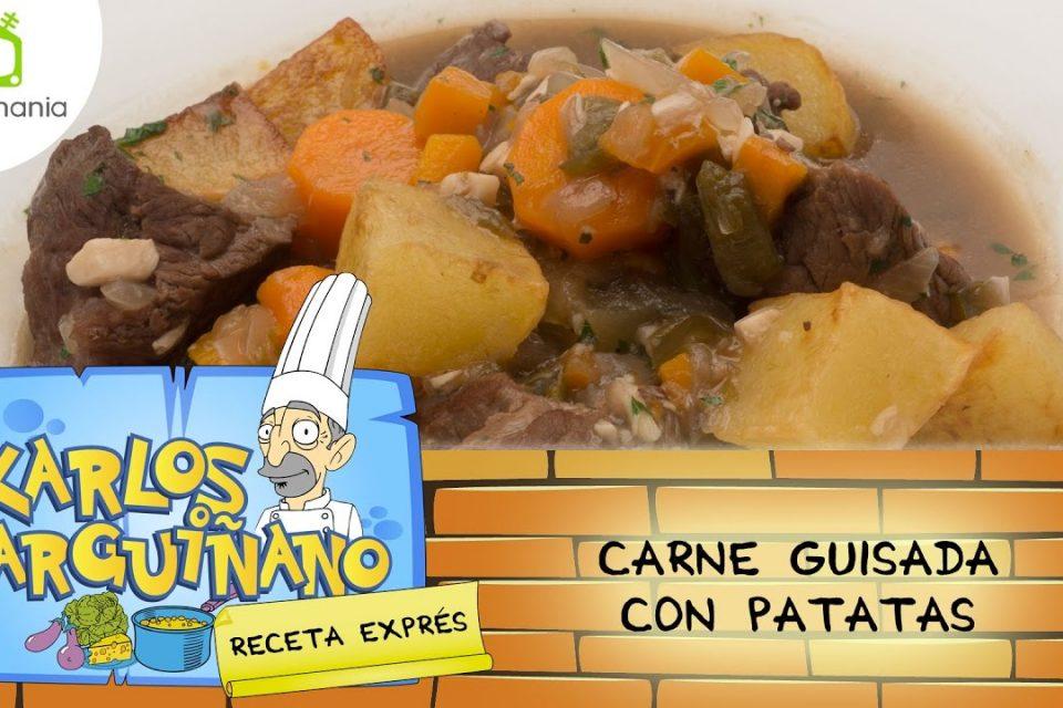 Karlos Arguiñano: Receta de Carne guisada con patatas