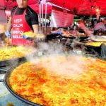 London Street Food en Notting Hill. Asado de Transilvania, Paellas gigantes de España y mucho más