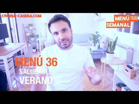 MENÚ SEMANAL SALUDABLE 36 de Septiembre y Verano   Menú de Cocina Casera