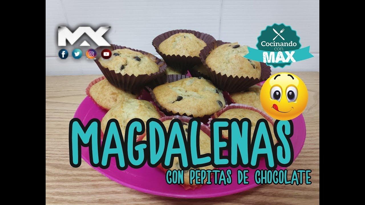 Magdalenas Caseras   Recetas   Cocina   Postres Caseros