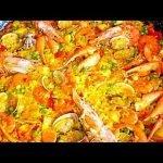 Paella de Marisco mi receta económica(A mi manera)
