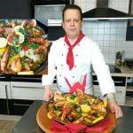 Paella de pescado y marisco al estilo español muy fácil y simplificado delicioso Ramadán 🌙 recetta de paella