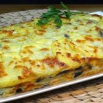 Pastel de patatas, berenjenas, jamón york y queso, súper fácil y SIN FRITOS - Loli Domínguez