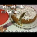 Pastel envinado con kahlua receta fácil bizcocho para  leches de café  Panque sabor café económico  Mi receta de cocina