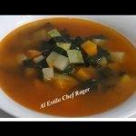 Prueba la mas sencilla, SOPA DE VERDURAS, Receta #371, como hacer sopa
