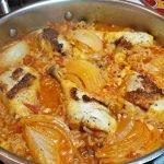 Receta Arroz Con Pollo | Receta de pollo y arroz | Gochujang Mama Recipes