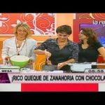 Receta: Queque de zanahoria con chocolate Mi receta de cocina