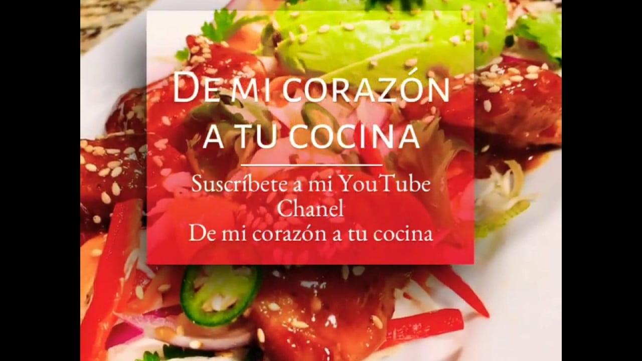 Recetas de cocina, Mexicanas e internacionales