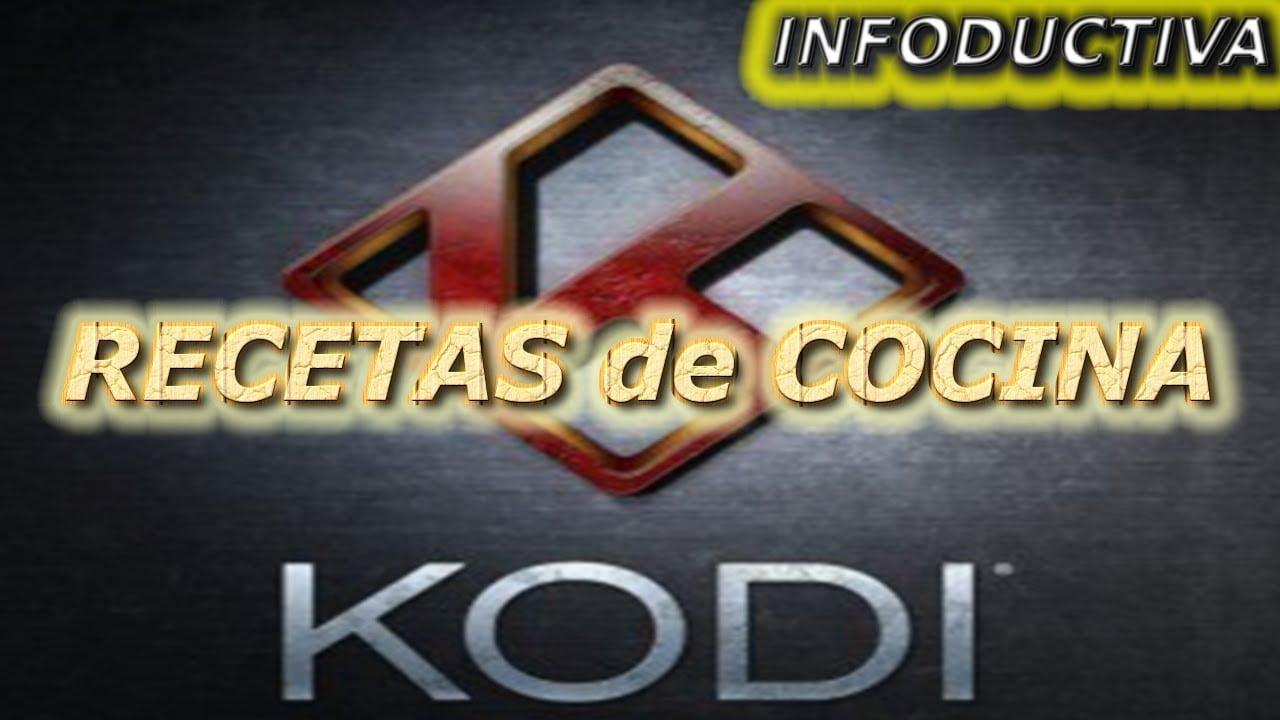 Recetas en Kodi