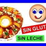 Roscón de Reyes SIN GLUTEN casero fácil esponjoso SIN LECHE SIN LACTOSA 👑 🎄 Receta Navidad 🎄🎅🏼  Mi receta de cocina