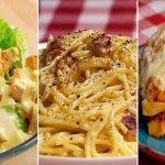 4 recetas ITALIANAS MUY POPULARES muy FÁCILES de hacer para que siempre queden bien