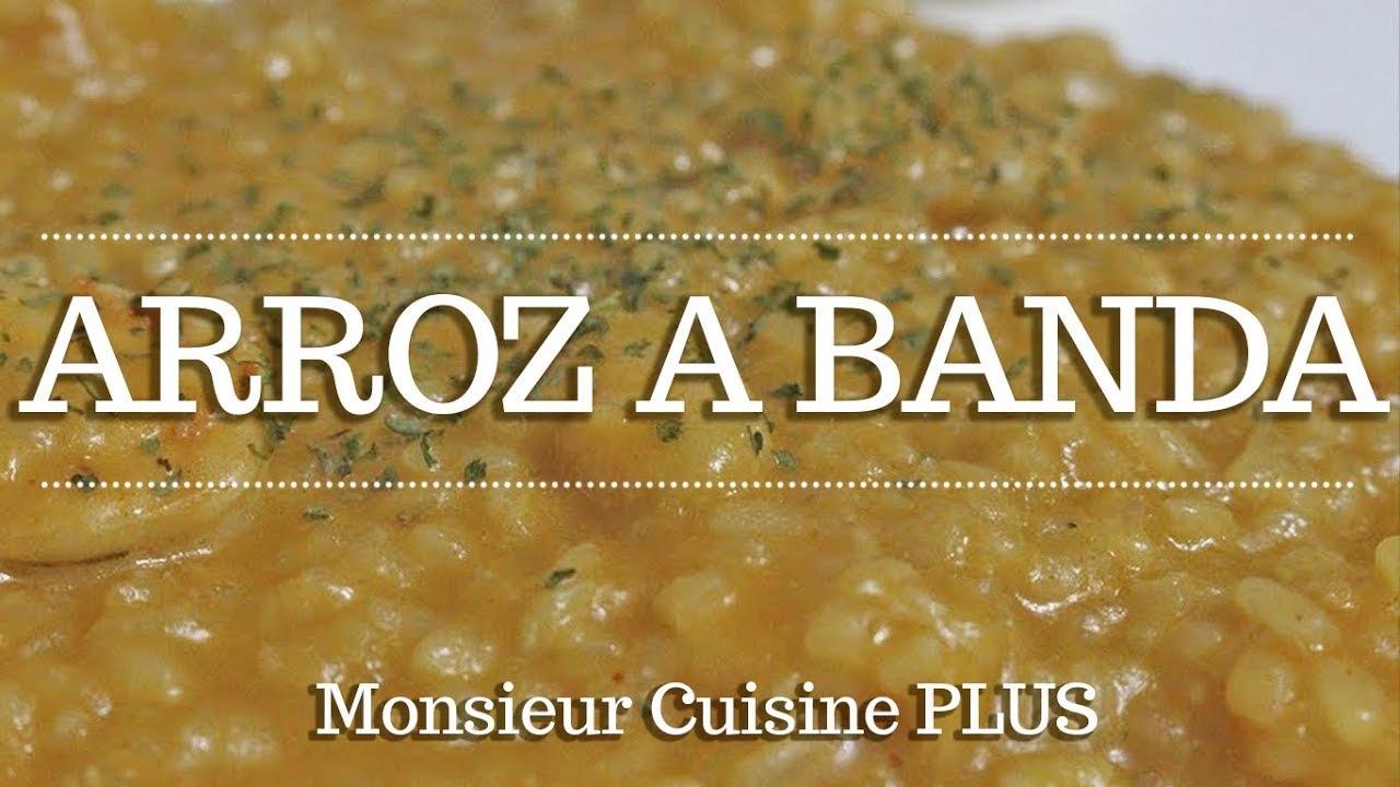 ARROZ A BANDA con Monsieur Cuisine Plus| Ingredientes entre dientes