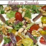 Alubias en Ensalada | Receta de Cocina en Familia