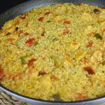Arroz con pollo al curry. Recetas de arroz muy sabrosas | Recetas de Javier Romero